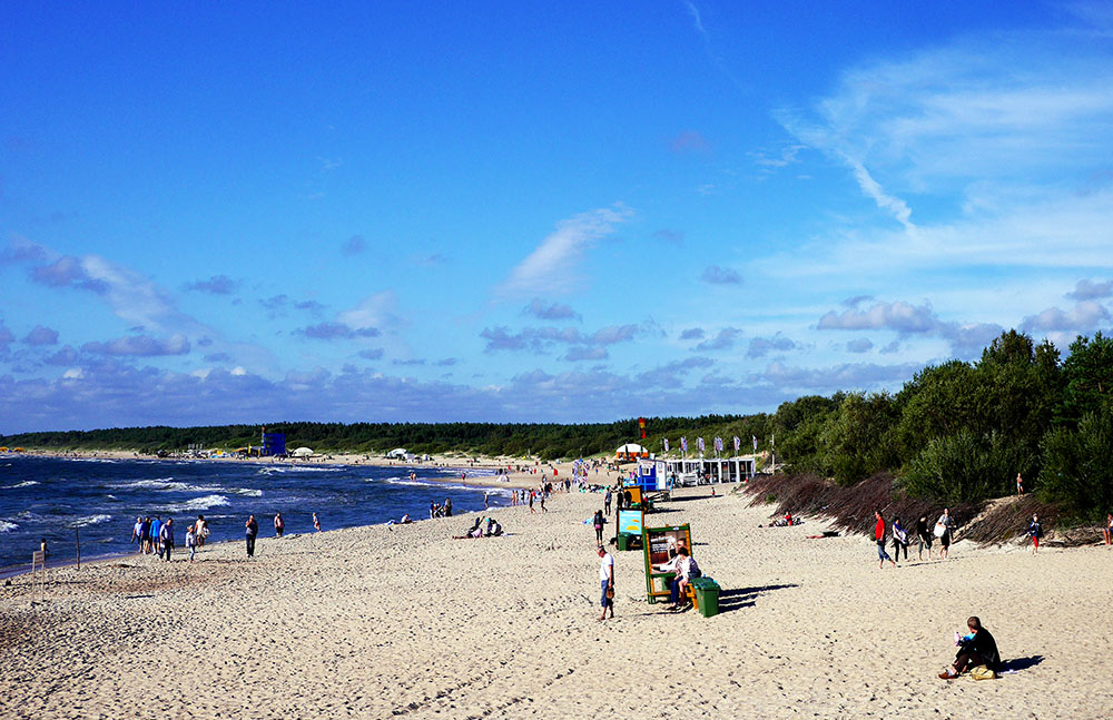 Паланга пляж
