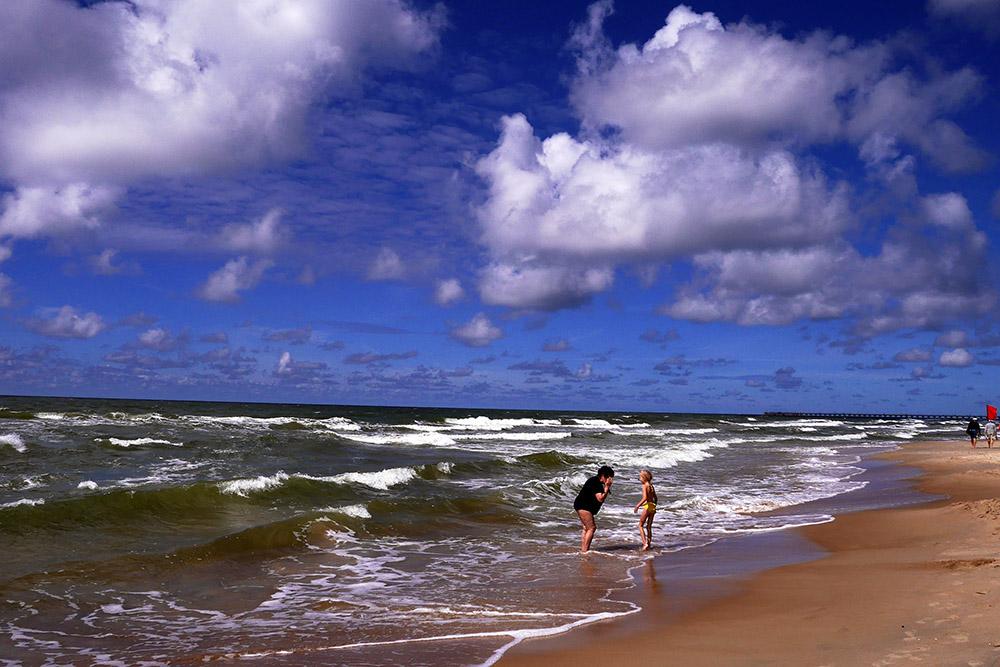 Пляж Паланга 4