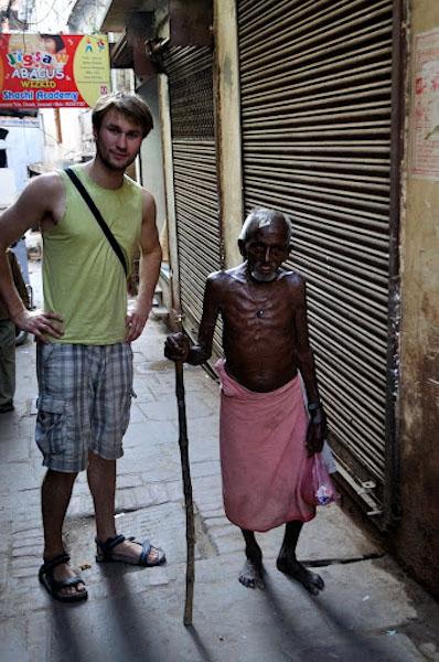 Старець у Варанасі