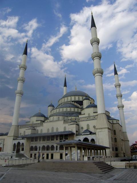 Анкара. Мечеть Кацатепе.