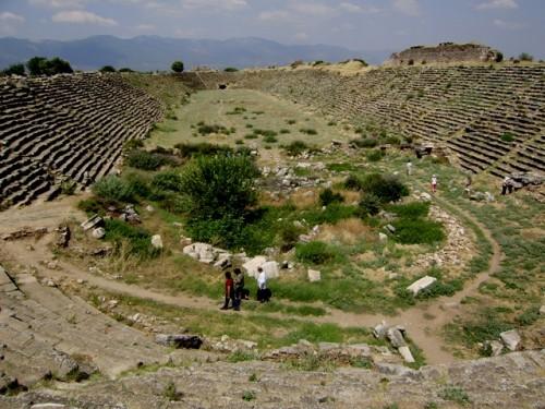 Афродіасіс. Древній стадіон на 35000 місць.