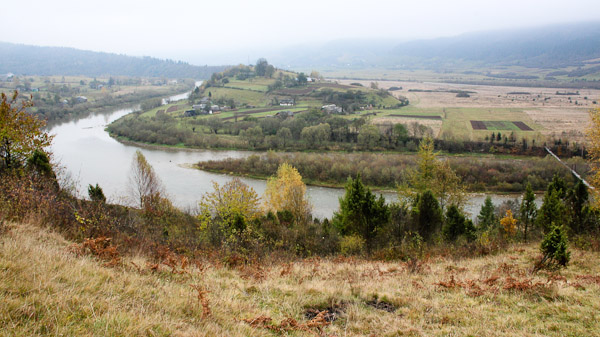Долина сіл Рибник і Довге