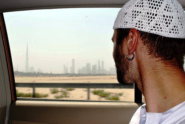 Виїзд з Дубаю