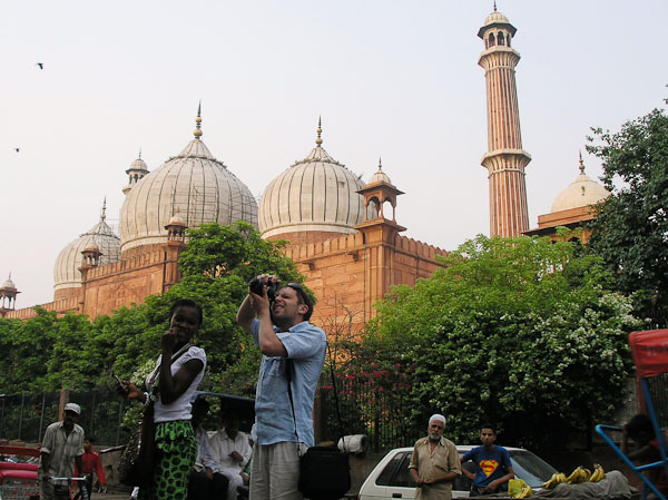 Джама Масід, Делі