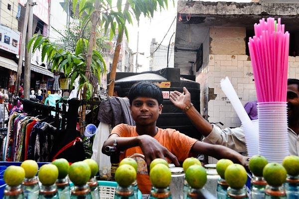 Ценрталтний Базар в Делі
