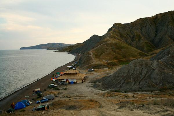 Лисяча бухта, Крим