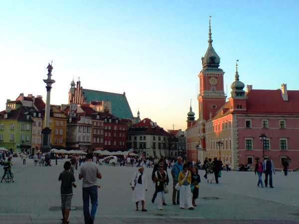 Варшава - середмістя