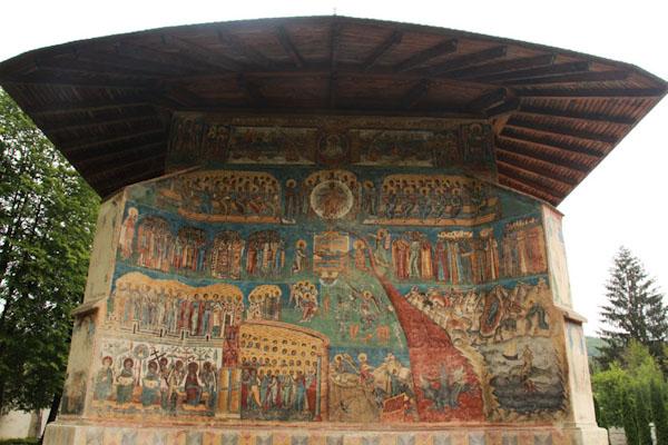 Монастир Воронець1, Румунія
