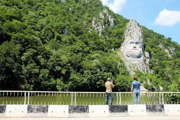Траян, Дунай, Румунія