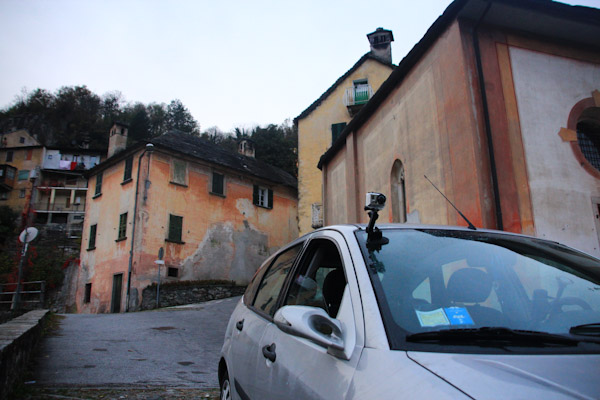 GoPro, roads of Italy