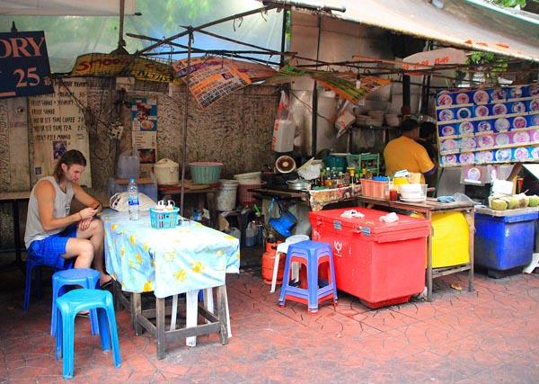 вулична їжа Тайланд