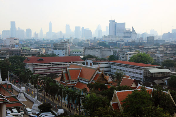 4 - Бангкок, Панорама