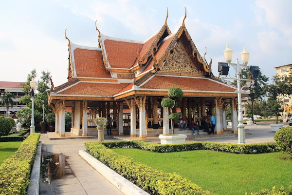 6 - Бангкок, Рачанатдарам