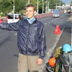 Перший український благодійний автостоп