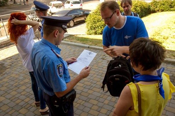 як-розмовляти з міліцією