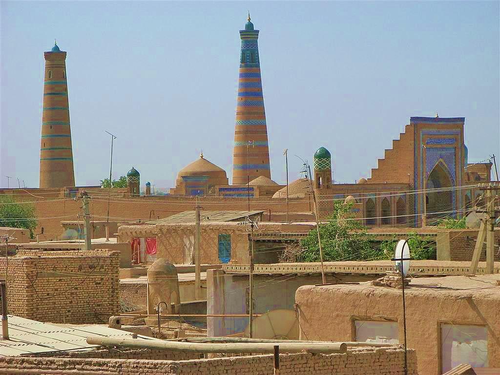 хіва-узбекистан