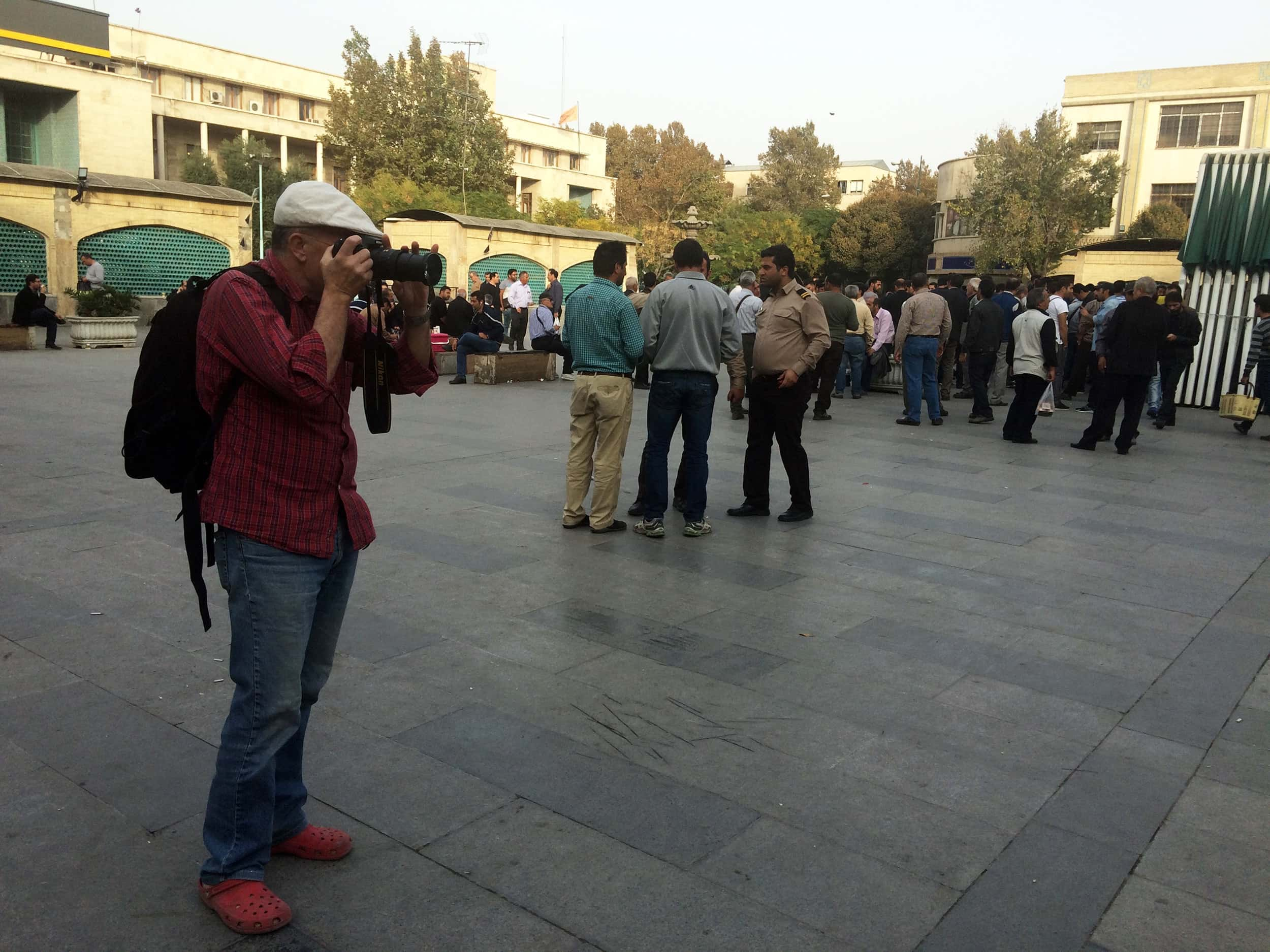 Іран. Центр перед базаром. Фото 4