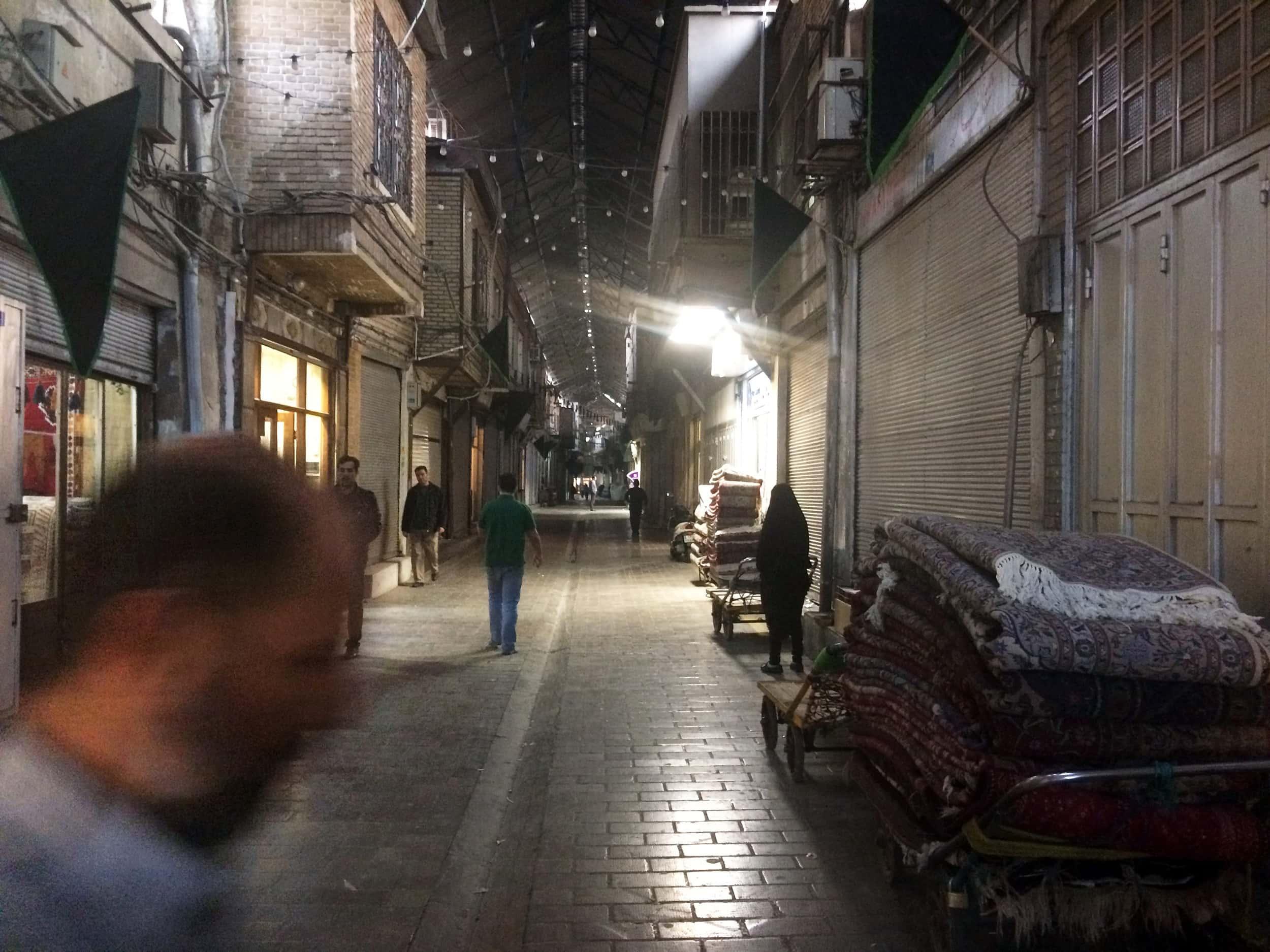 Іран. Базар що закривається. Фото 2