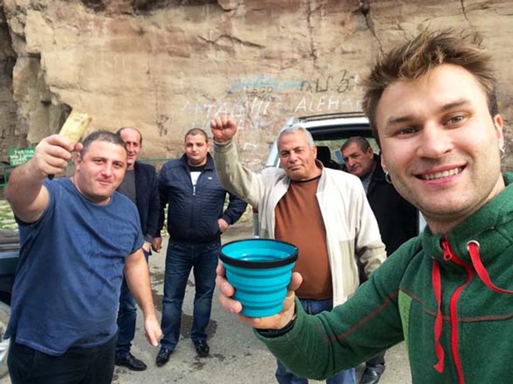 Вірменія. Туристи