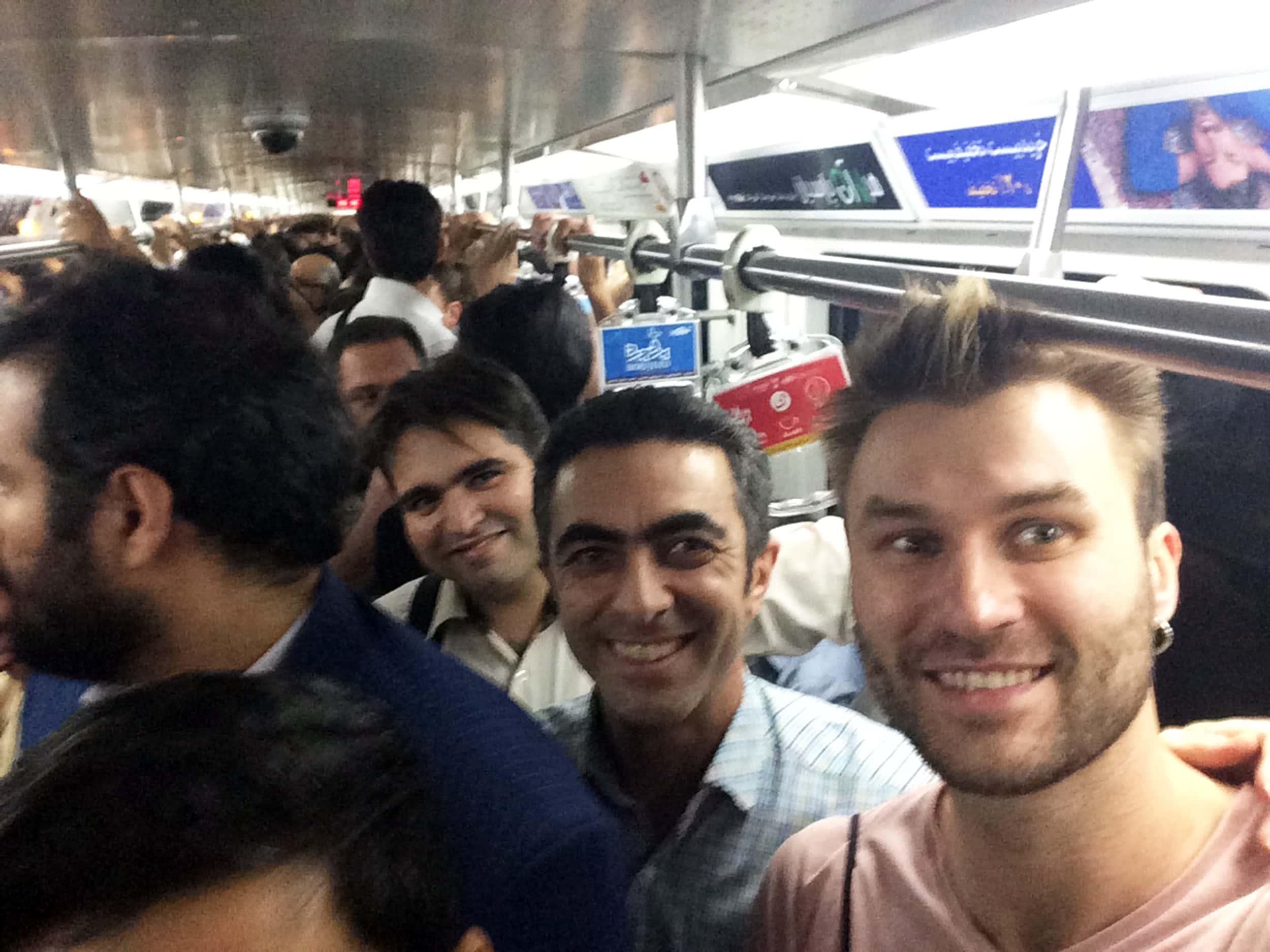 Іран. Фото з метро
