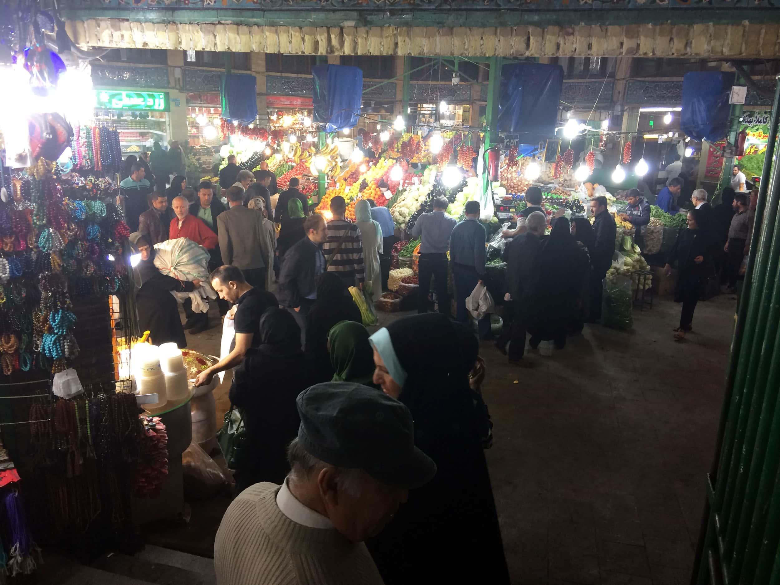 Тегеран. Базар на півночі міста. Фото 2