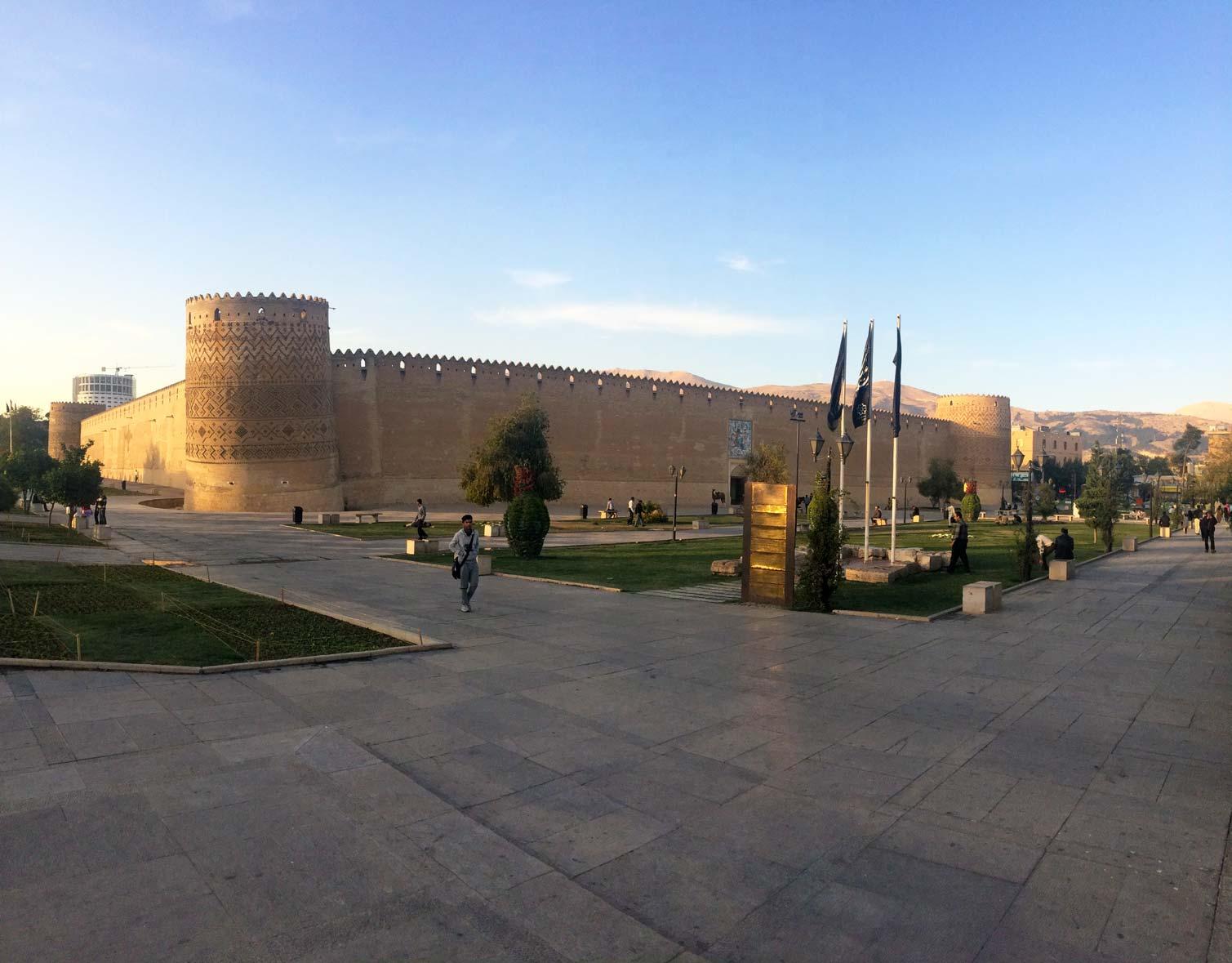 Шираз. Замок. Фото 1