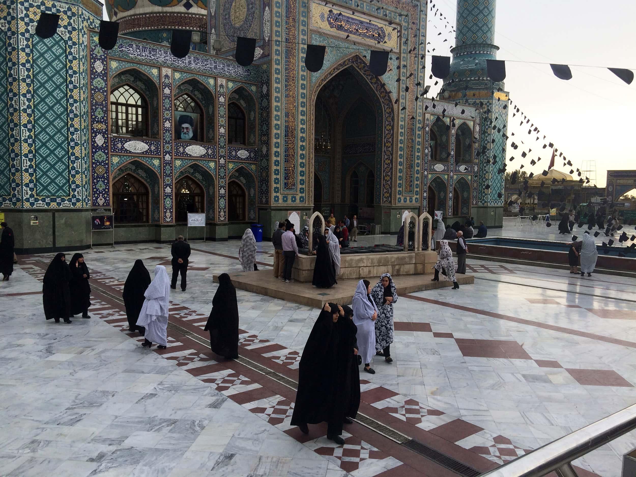 Тегеран. Мечеть. Фото 2