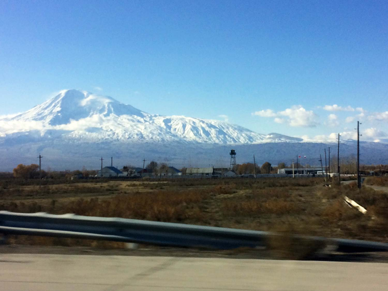 Вірменія. Гора Аррарат