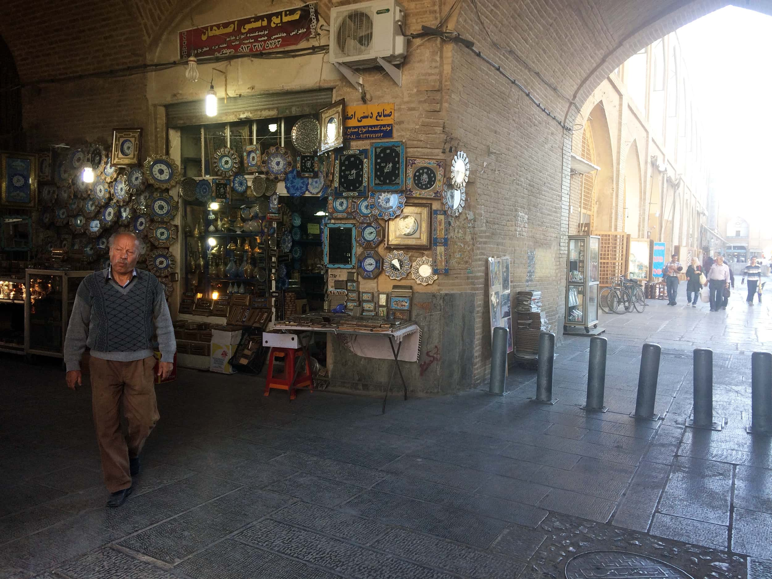 Ісфахан. Фото базару і коридору 2