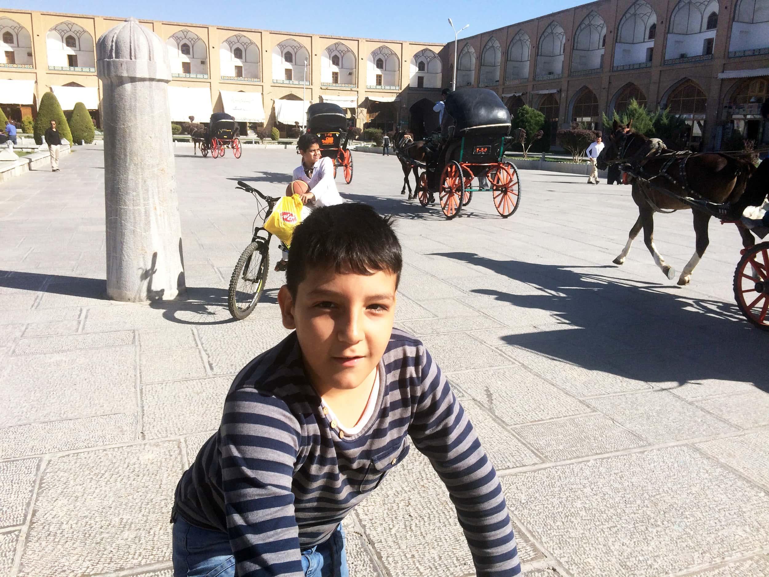 Ісфахан. Площа. Фото 7