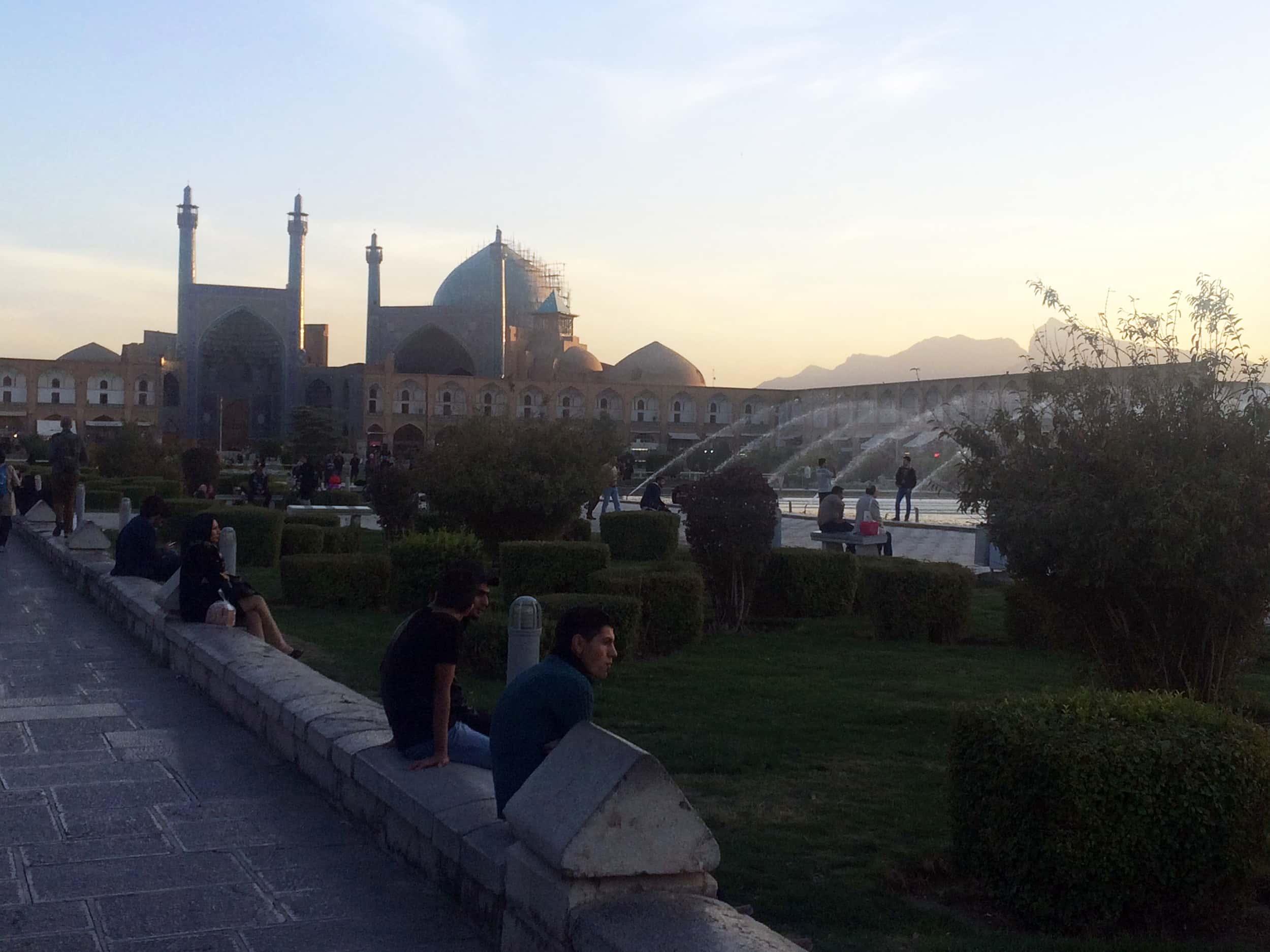 Ісфахан. Площа. Фото 3