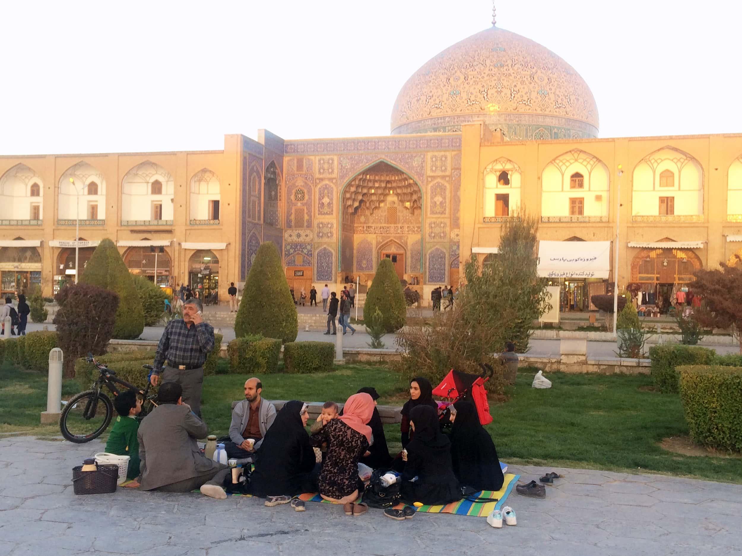 Ісфахан. Площа. Фото 5