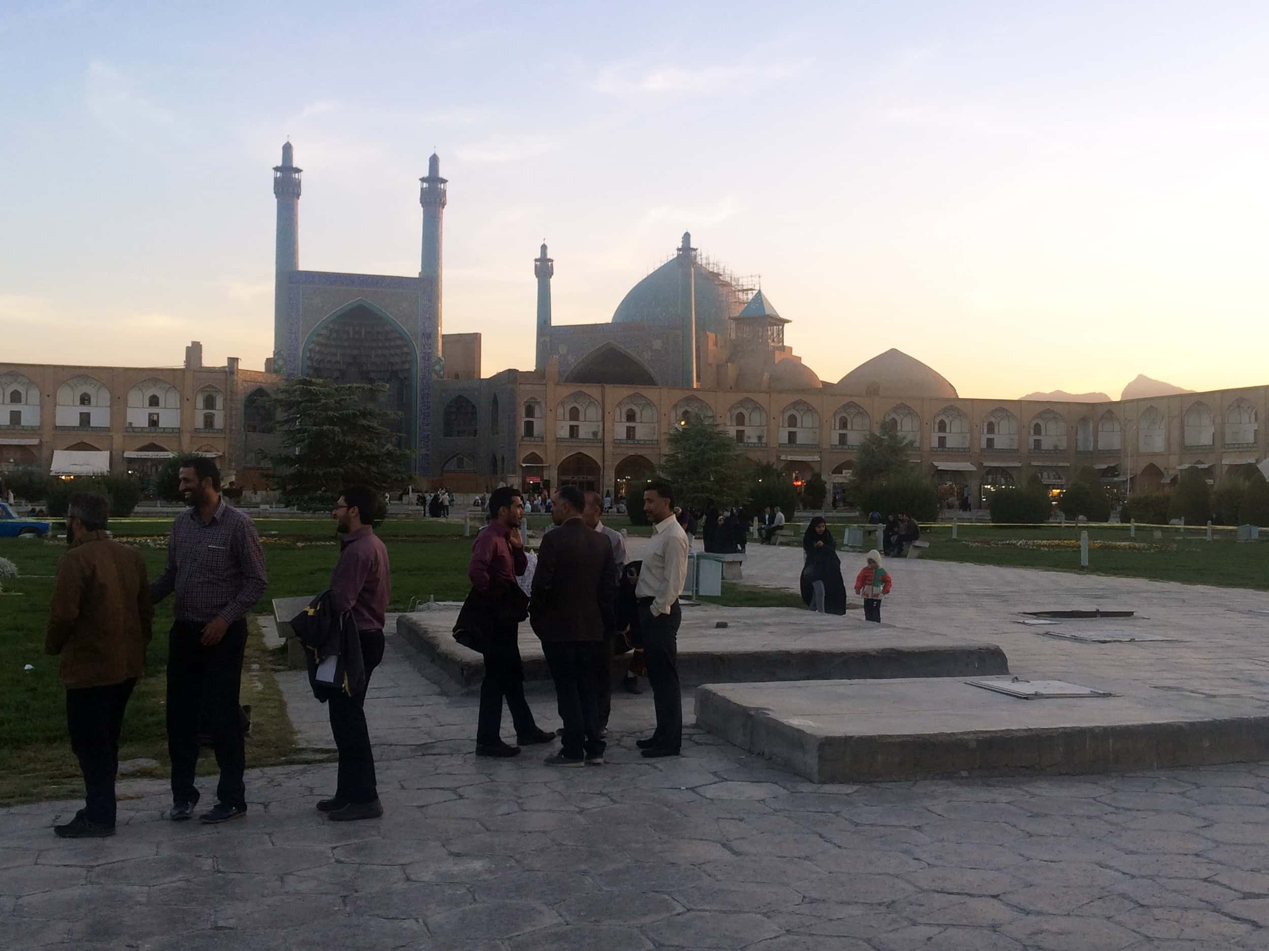 Ісфахан. Площа. Фото 6