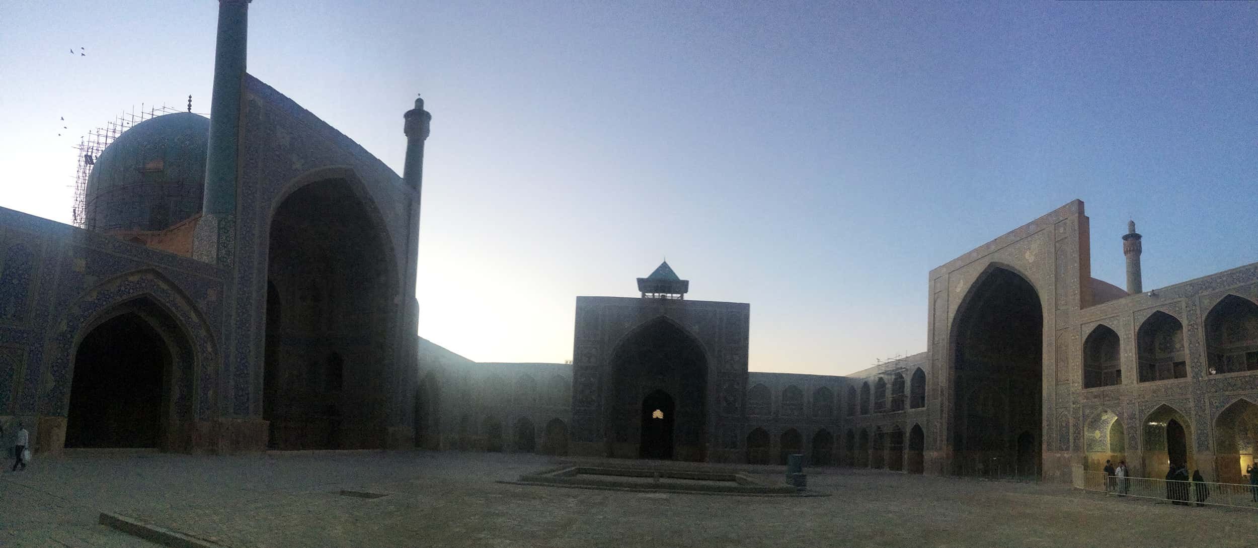 Ісфахан. Мечеть зсередини. Фото 2