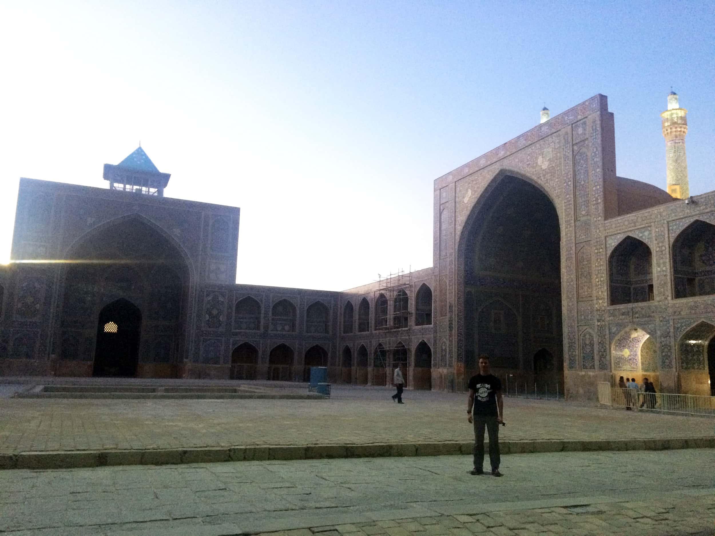 Ісфахан. Мечеть зсередини