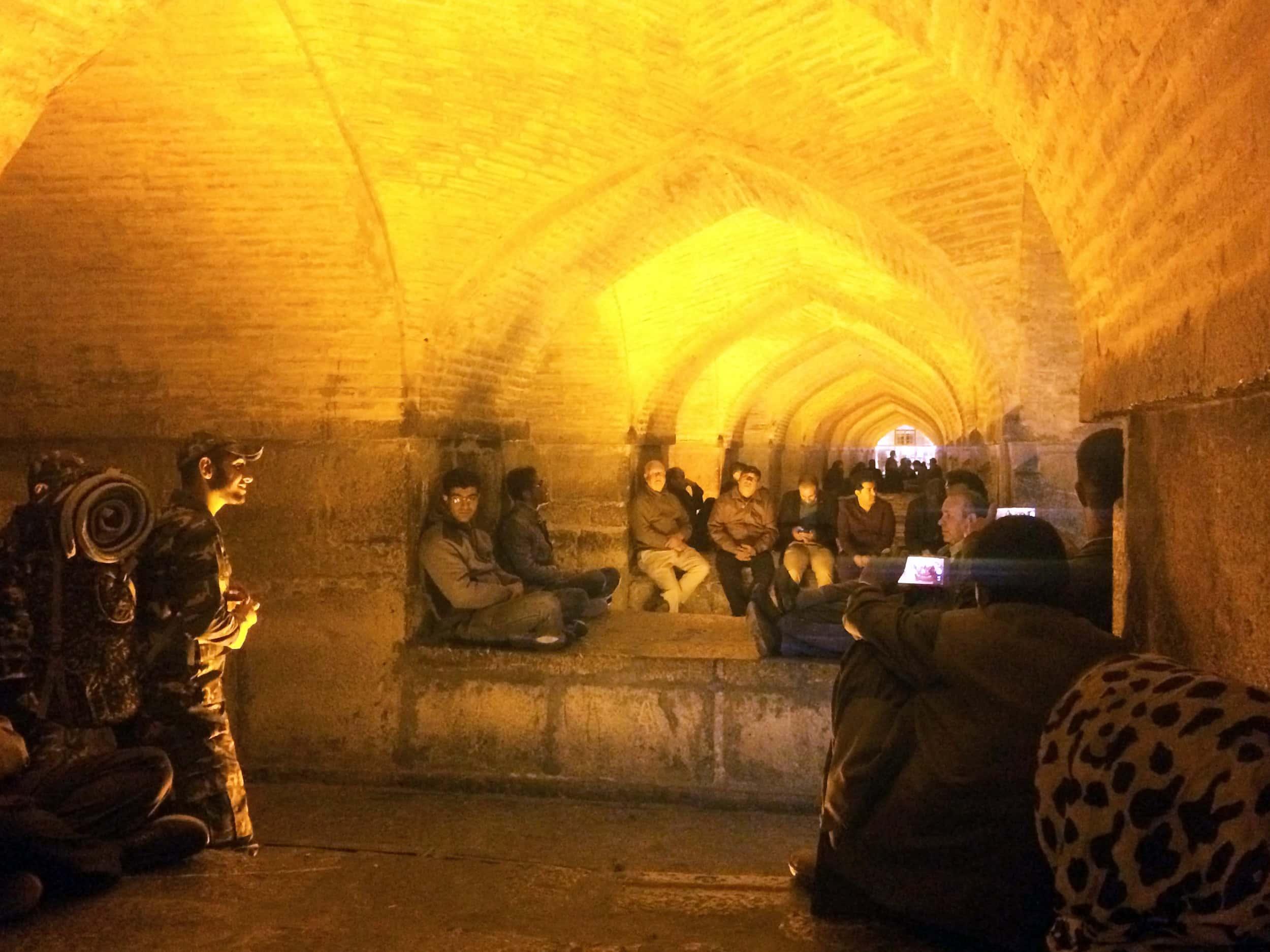 Ісфахан. Люди що співають. Фото 2