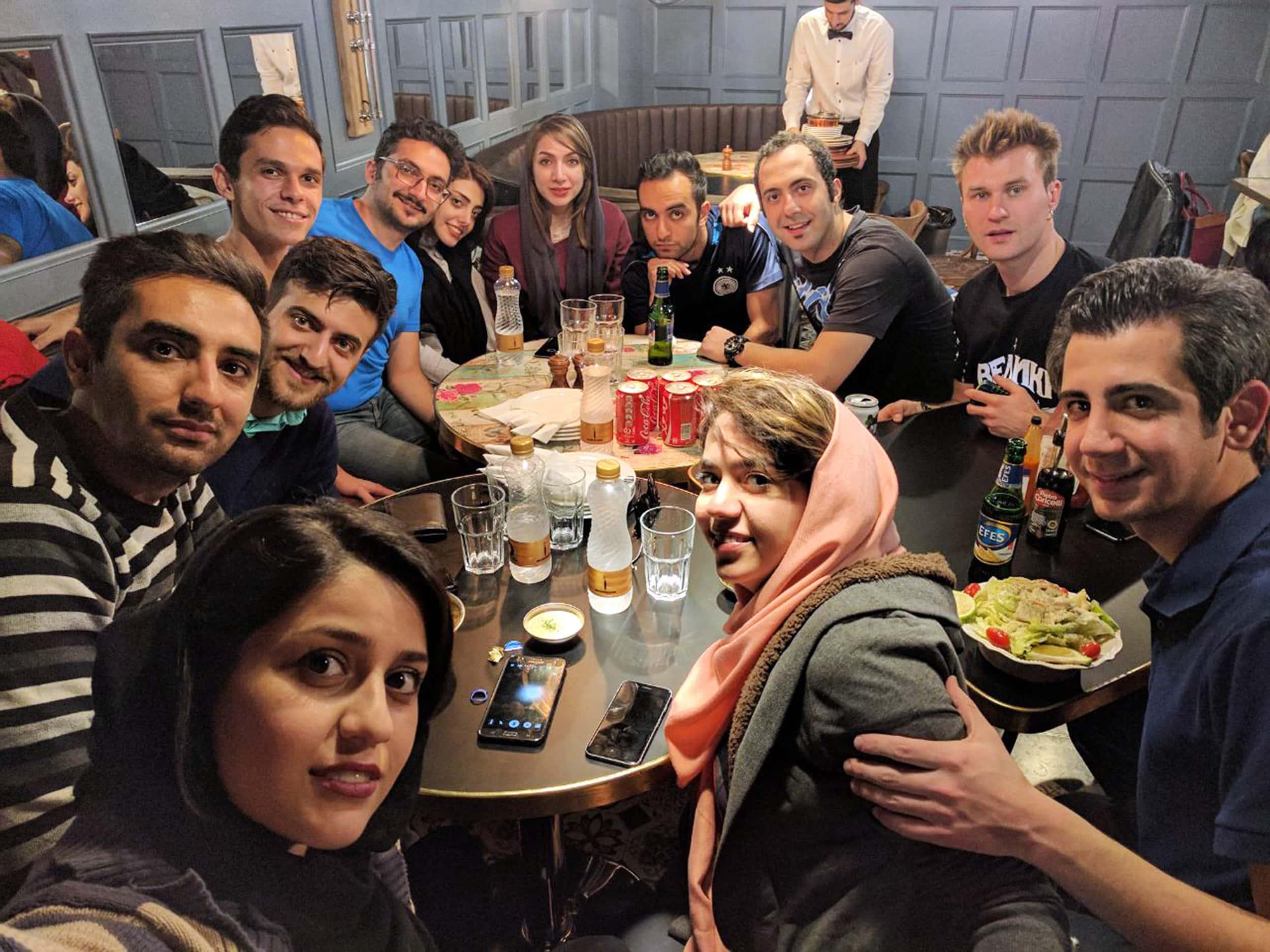 Ісфахан. Фото з людьми