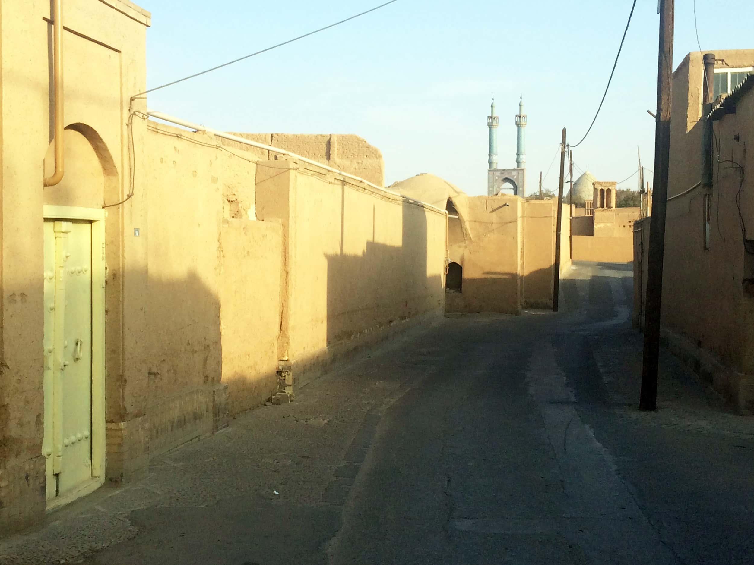 Язд. Старі вулички. Фото 7