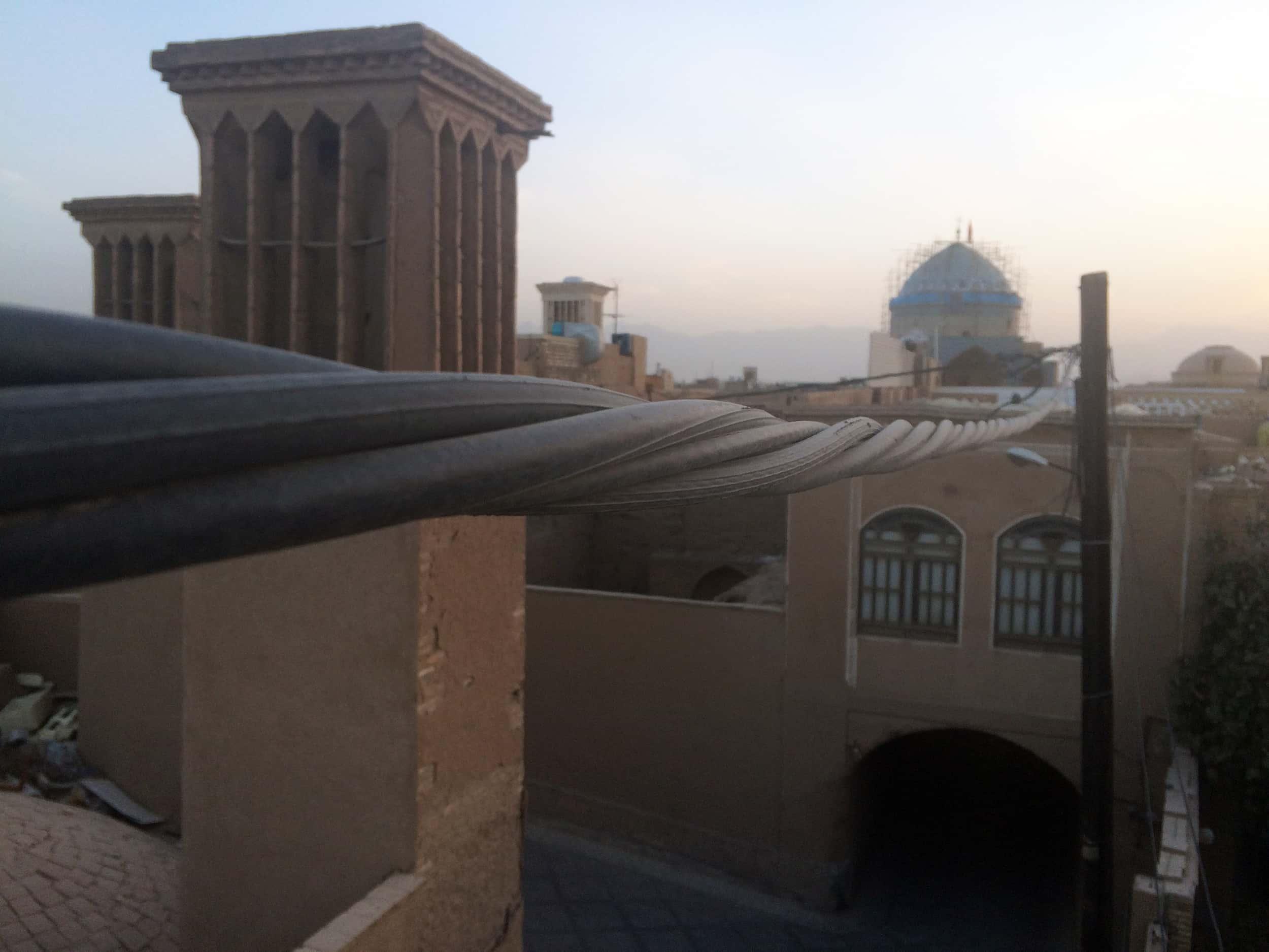 Язд. Вигляд з даху. Фото 6