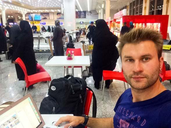 Іран. Літак. Фото 2