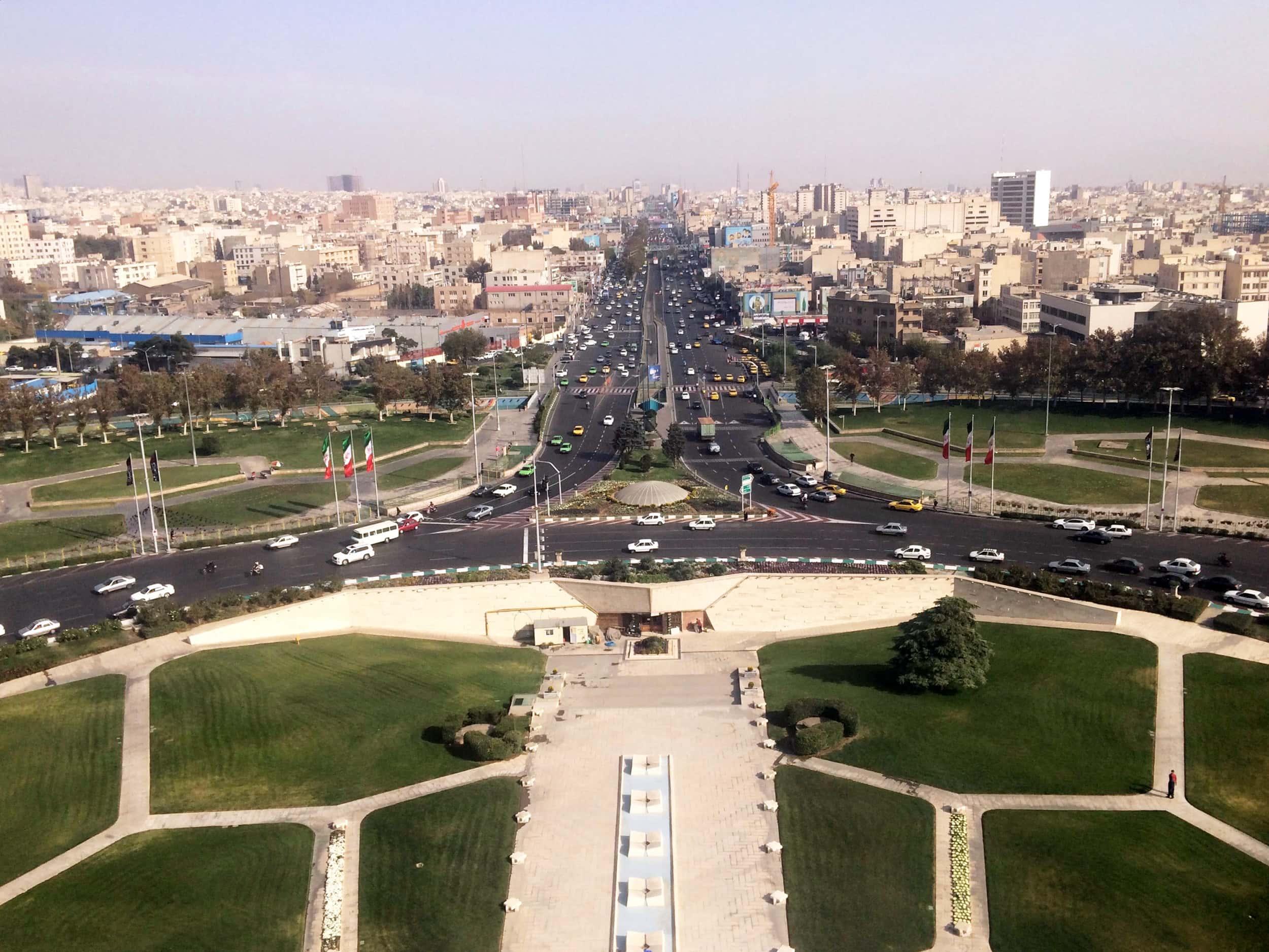 Іран. Фото міста з вежі