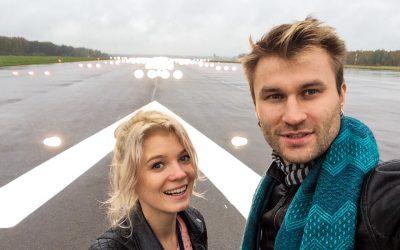 Як ми побували на злітно-посадковій смузі аеропорту Каунас (Литва)