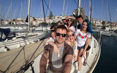 Сімейна подорож у Грецію (частина 1 – Яхтинг)