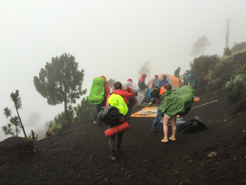Гватемала, вулкан