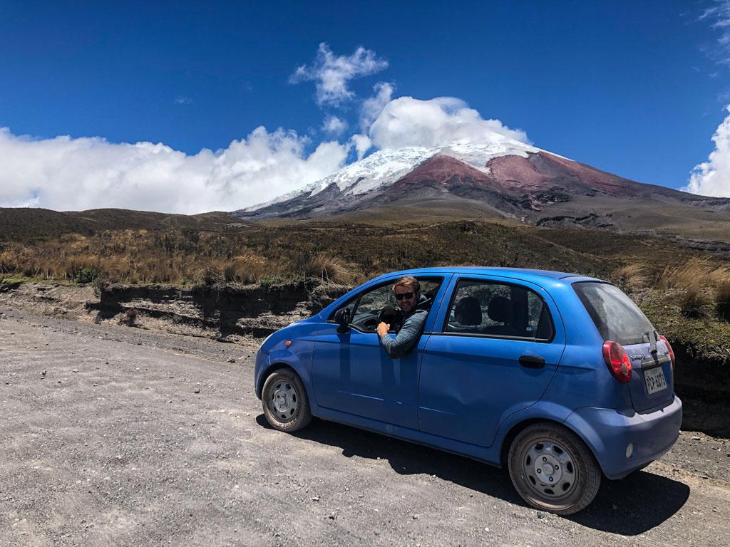 Еквадор, вулкан Котопаксі