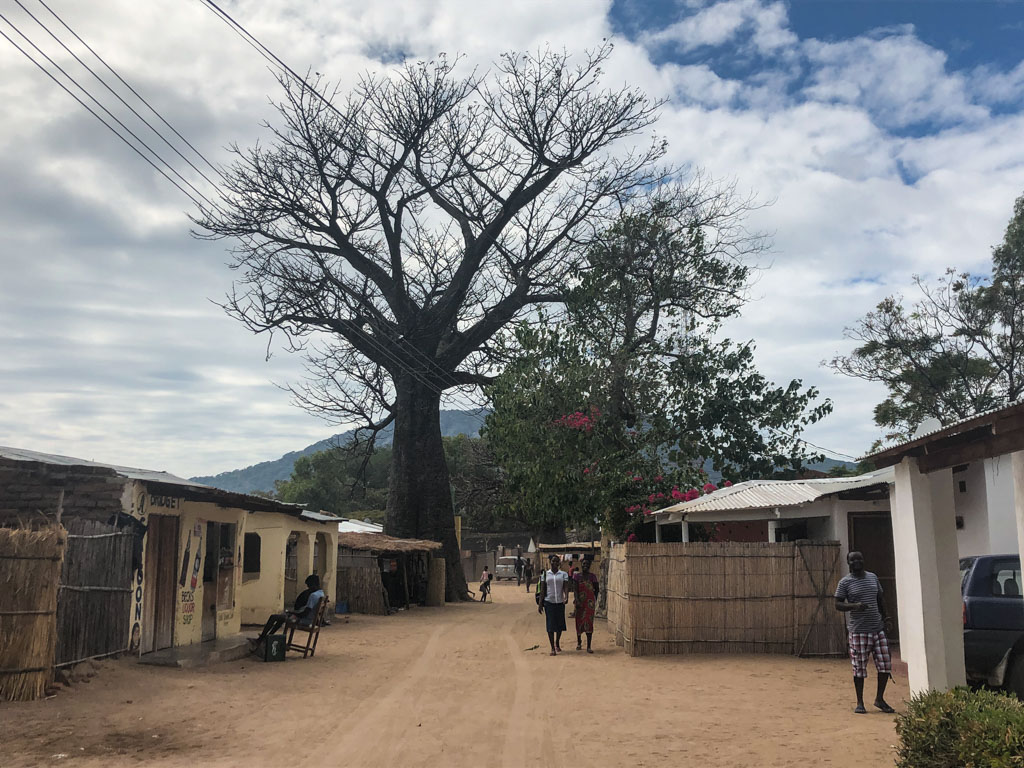 Озеро Малаві і селище Cape MаClear