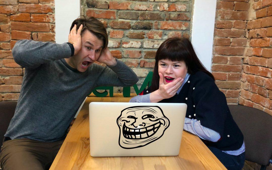 Анти- тролінг або Як реагувати на критику в інтернеті