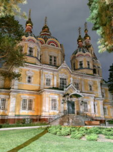 Православна церква 19 ст. в Алмати