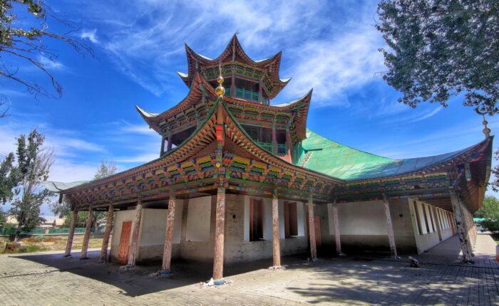 Мечеть-пагода у Жаркенті