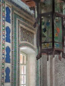 Інтер'єри мечеті в Жаркенті